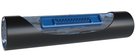 LIN Flat Integral Dripper of drip lines irrigation