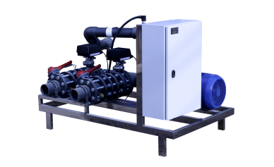 irrigation systems-mixing-water-unit