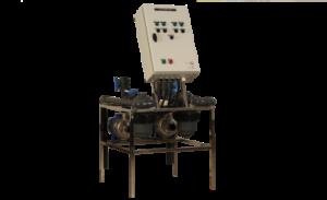 irrigation systems-Block control and fertilizers mixer unit