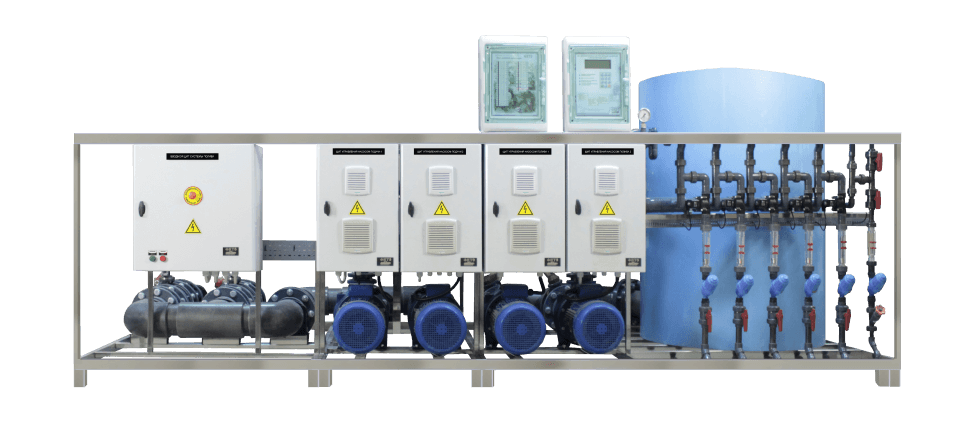 irrigation systems- unit 100 m3-h