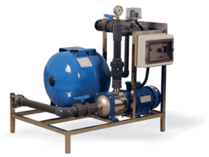 engineering system for irrigation solutions: PAMPING-UNIT